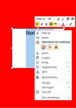 Skriv tittel i tekstboks