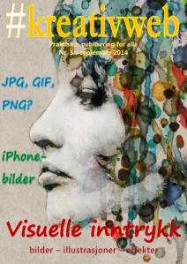 Forside kreativweb nr. 3, september 2014