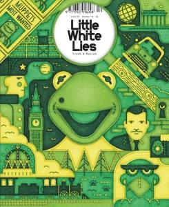 Forside for Little White Lies Magazine