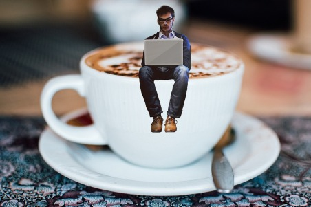coffe+writer